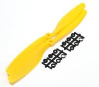 Turnigy Slowfly Propeller 10x4.5 Yellow (CW) (2pcs)
