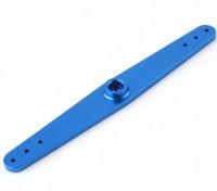 """Servo Arm Full Arm 4"""" 25T Blue Color (Turnigy)"""