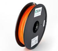 ESUN 3D Printer Filament Orange 1.75mm PLA 0.5KG Spool