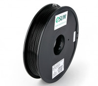 ESUN 3D Printer Filament Black 1.75mm ABS 0.5KG Spool