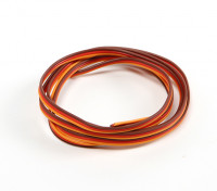 26AWG Servo Wire 1mtr (Red/Brown/Orange)