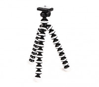 """Flexible Mini Bubble Tripod For Action Cams With 1/4""""-20 Thread and Quick-Release Mount"""
