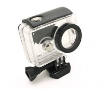 Waterproof Case for Xiaoyi Action Camera w/Universal Quick Release Mount