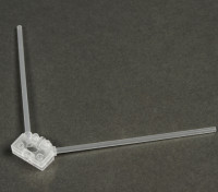 Turnigy 2.4G Antenna Mount for Racing Drones (Clear)