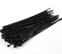 Cable Ties 200mm x 4mm Black (100pcs)