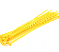 Cable Ties 350mm x 7mm Yellow (20pcs)