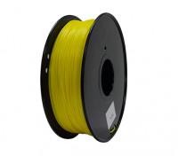 HobbyKing 3D Printer Filament 1.75mm PLA 1KG Spool (Yellow)