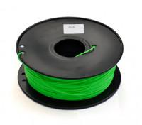 HobbyKing 3D Printer Filament 1.75mm PLA 1KG Spool (Light Green)