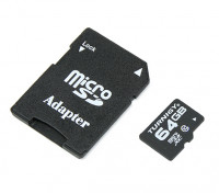 Turnigy 64GB Class 10 Micro SD Memory Card (1pc)