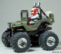 Tamiya 1/10 Scale Wild Willy 2 w/WR-02 Series Kit 58242