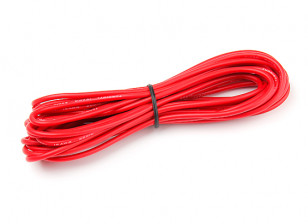 Turnigy High Quality 16AWG Silicone Wire 5m (Red)