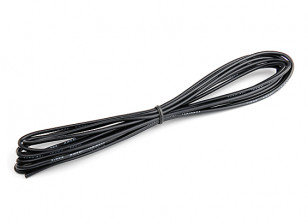 Turnigy High Quality 18AWG Silicone Wire 3m (Black)