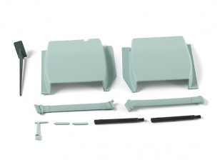 Durafly™ Bf.109E 1100mm - Scale Plastic Parts