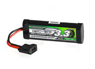Turnigy nano-tech 3300mAh 7.2V 6P 10C NiMH Battery w/Flat Connector