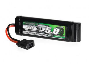 Turnigy nano-tech 5000mAh 8.4V 7P 10C NiMH Battery w/Flat Connector