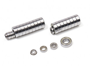 BSR Berserker 1/8 Electric Truggy Replacement Bearing Set (26pcs) breakdown