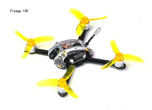 Kingkong Fly Egg 130 Camera Racing Drone with Piko BLX FC, 4in1 ESC, VTX, Camera, Rx Ready Overview