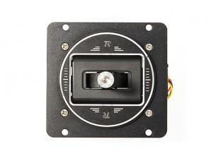 FrSky M7-R Hall Sensor Gimbal for Taranis Q X7/X7S Transmitter (Black Edition)