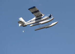 "Avios Grand Tundra - Blue/Silver 1700mm (67"") Sports Model (PNF)"