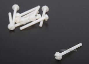 Nylon Screws 6x60mm (10pcs)