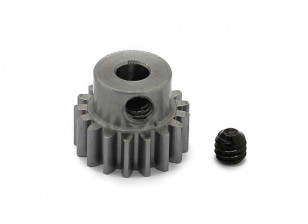 Robinson Racing Steel Pinion Gear 48 Pitch Metric (.6 Module) 17T