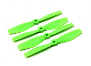 Diatone Bull Nose Polycarbonate Propellers 5040 (CW/CCW) (Green) (2 Pairs)