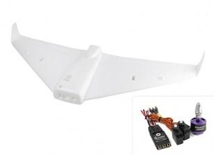 ExplorerBee FPV Flying Wing 1020mm Wingspan w/Motor, ESC, Servos (ARF)