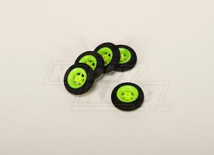 Super Light 5 Spoke Wheel D30x9mm (5pcs/bag)