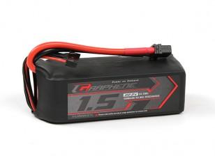 Turnigy Graphene 1500mAh 6S 65C Lipo Pack w/ XT60U