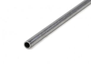 K&S Precision Metals Aluminum Stock Tube 5mm OD x 0.45mm x 1000mm (Qty 1)