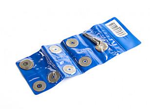 20mm Diamond Cutting Discs w/3.2mm Mandrel 10pc