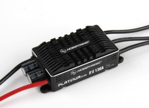 Hobbywing Platinum 130A HV V4 Brushless ESC OPTO