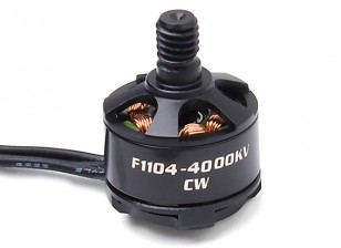 Turnigy F1104-4000KV 5.5g Brushless Motor CW