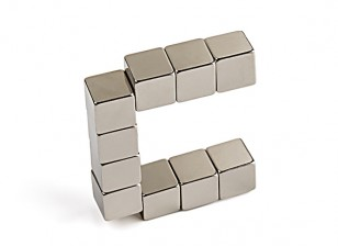 N35 Cube Neodymium Magnet 10 x 10 x 10mm (10pcs)