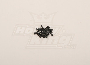 Screw Socket Head Hex M2x10 (20pcs)