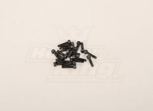 Screw Socket Head Hex M3x14 (20pcs)