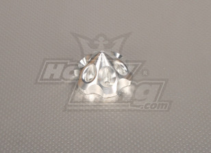 CNC 3D spinner Large Silver