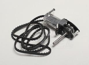 Metal Tail Case Assembly w/Belt HK-550GT