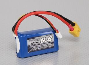Turnigy 800mAh 2S 40C Lipo Pack