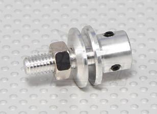 Prop adapter w/ Steel Nut 3mm shaft (Grub Screw Type)