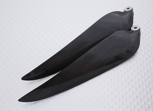 Folding Carbon Infused Propeller 11x8 Black (1pc)