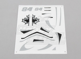 Edge 540 V3 Micro - Decal Set