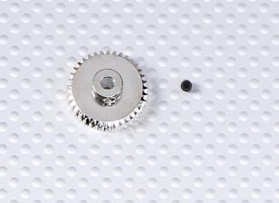 37T/3.175mm 48 Pitch Steel Pinion Gear
