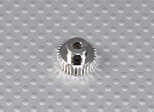 34T/3.175mm 64 Pitch Steel Pinion Gear