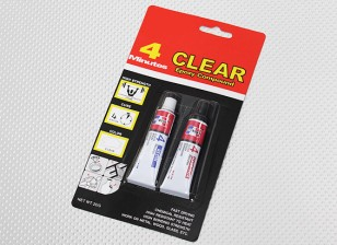 EV-804/20G 4 Min Clear Epoxy Glue
