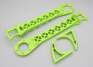 Hobbyking SK450 Replacement Arm Set - Bright Green (2pcs/bag)