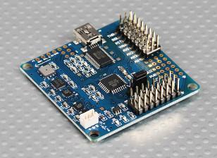 MultiWii 328P Flight Controller w/FTDI & DSM2 Comp. Port