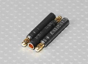 3.5mm Male to 4mm Female bullet - 3pcs/bag
