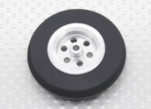 Turnigy Scale Jet Alloy Wheel Thin w/Rubber Tire (45mm)