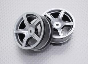 1:10 Scale High Quality Touring / Drift Wheels RC Car 12mm Hex (2pc) CR-C63S
